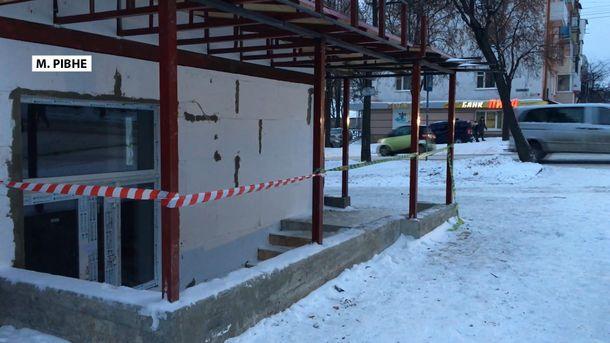 Вмагазине Ровно при взрыве умер неизвестный мужчина