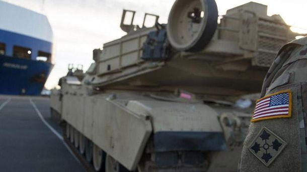 ВПольшу прибыли первые танки США