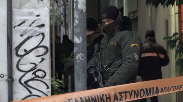 ВАфинах неизвестный обстрелял изавтомата полицейский спецназ