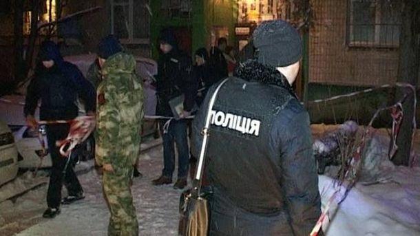 ВКиеве убили мужчину прямо перед дверью собственной квартиры