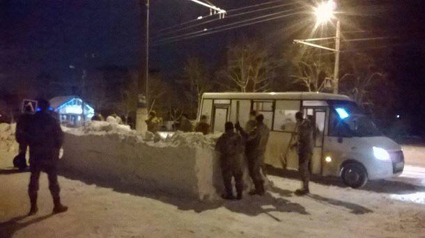 Зупинка зі снігу