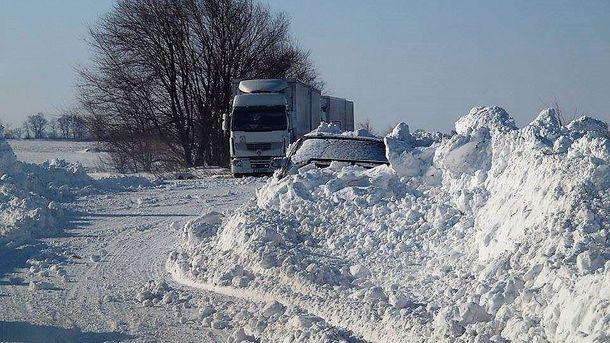 ВМолдове иУкраине сохраняются ограничения надвижение транспорта понекоторым трассам
