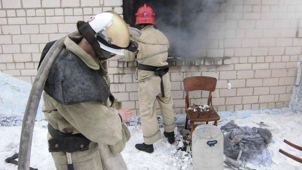 ВГорностаевском районе впроцессе  пожара погибли двое детей