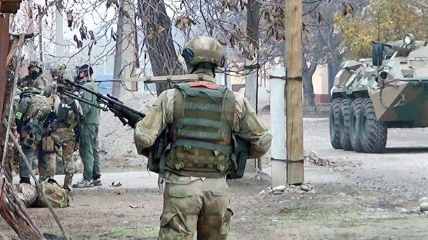 ВЧечне впроцессе  специализированной операции  уничтожены четверо боевиков, один исчез
