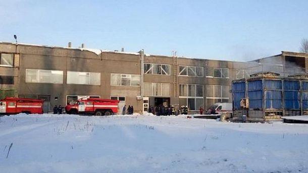 ВКиеве назаводе произошел взрыв: есть пострадавшие