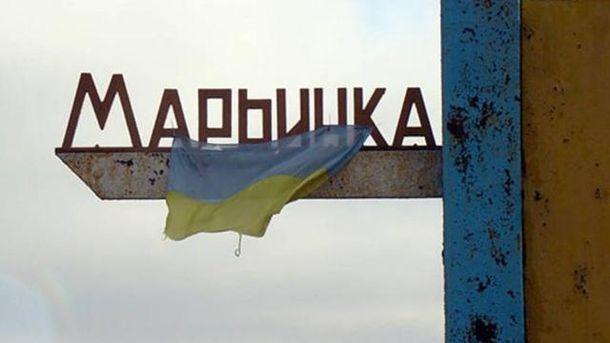 Мирная жительница ранена вМарьинке впроцессе обстрела террористов