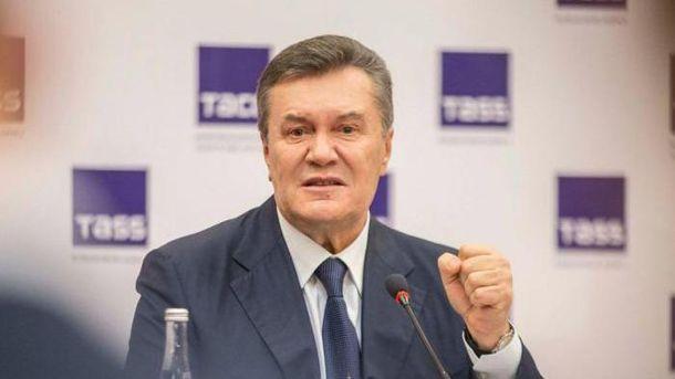 Луценко желает лично поддерживать всуде обвинение против Януковича
