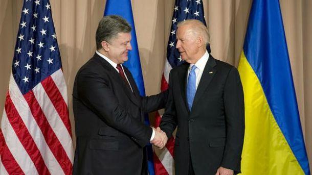 Заключительная встреча Байдена иПорошенко пройдет 15января вКиеве
