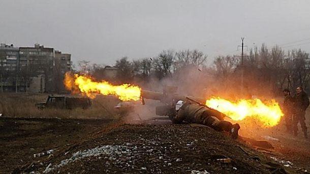 Силы АТО отбили две атаки боевиков наМариупольском направлении