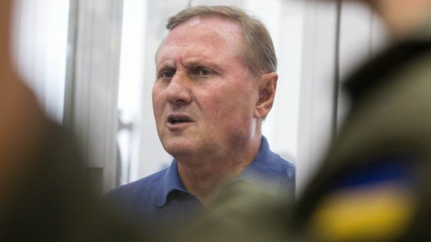 Ефремов доставлен в строение суда вСтаробельске