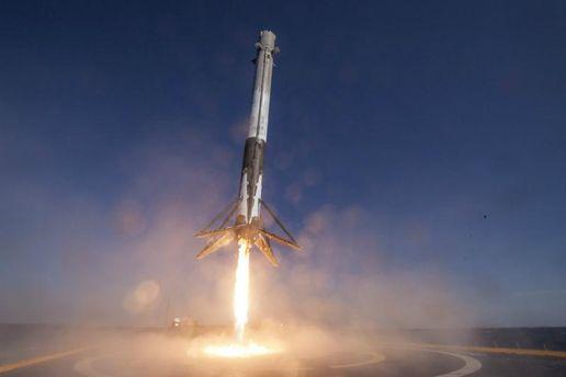 Ракета Falcon 9 стартовала сбазы ВВС вКалифорнии