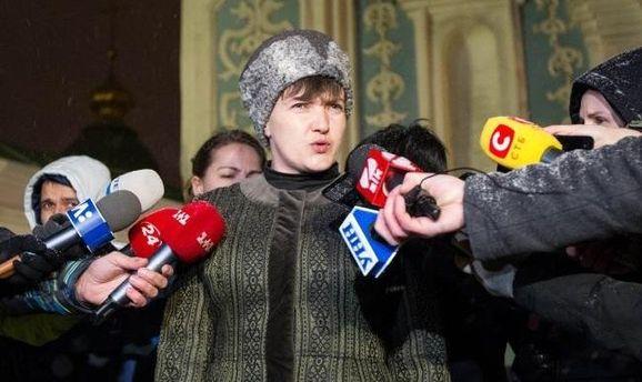 Савченко пояснила причину публикации списков пленных вДонбассе