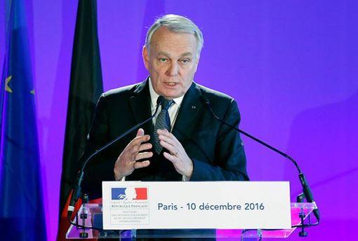 Руководитель МИД Франции назвал провокацией решение опереносе посольства США вИерусалим