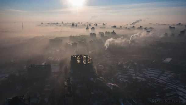 Подозрительный смог в Киеве, новые вагоны-трансформеры от Укрзализныци, – самое интересное за день