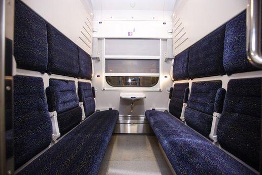 Размещены фото новых украинских вагонов-трансформеров: «Удобно икомфортно»