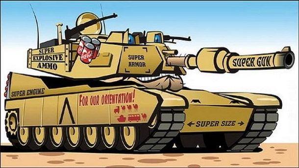 Демократия танками не ограничится: такого Европа не видела со времен Холодной войны