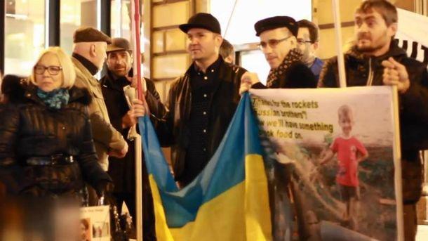 ВКиеве проходит акция «Стоп Путин!»