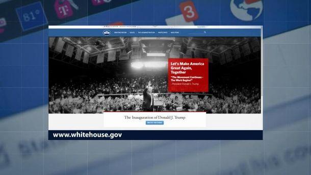 Раздел обЛГБТ был удален ссайта Белого дома