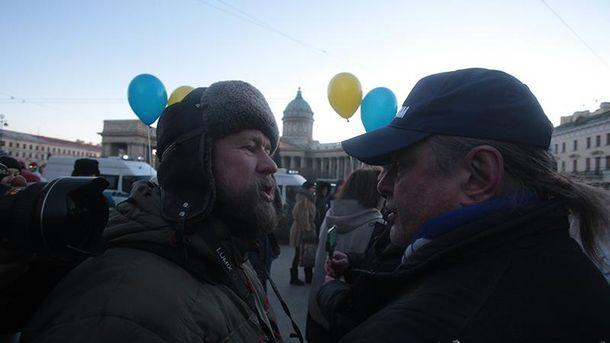 В северной столице задержали активиста наакции против войны вгосударстве Украина