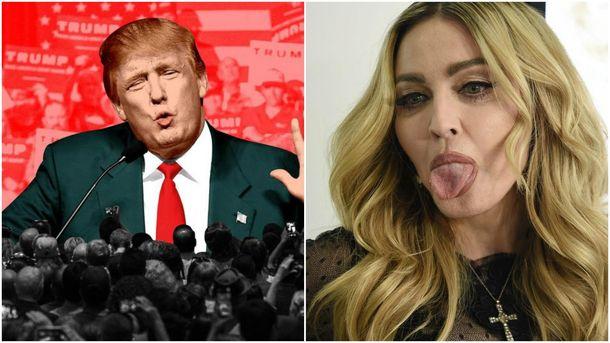 Акции против Трампа: млн участников и«послание» Мадонны, размещены фото ивидео