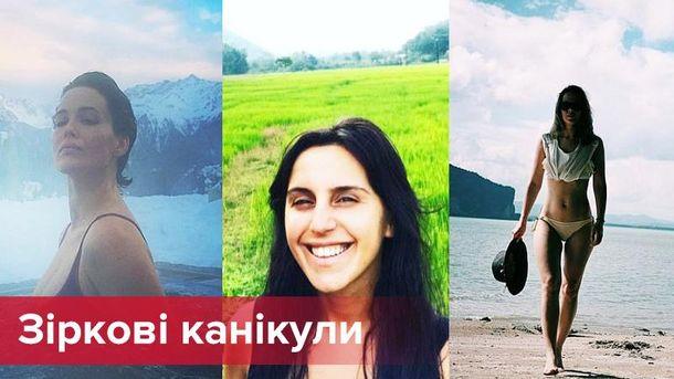 Как отдыхали украинские звезды на зимних каникулах: яркие фото и видео