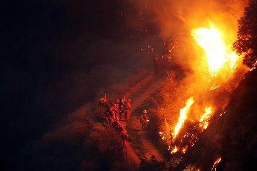 Нужны дополнительные средства для борьбы слесными пожарами— Президент Чили