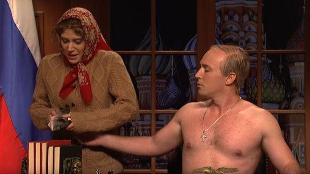 Голый «Путин» обратился к жителям Америки вшоу Saturday Night Live