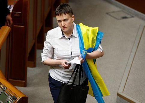 Сразу после Российской Федерации. Савченко назвала киевскую власть противником народа №2