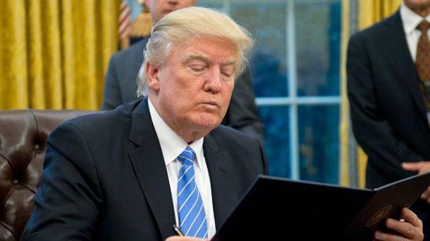 Трамп подписал указ овыходе США изТранстихоокеанского партнерства