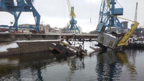 Вреку Днепр вылилось около 300 тонн мазута