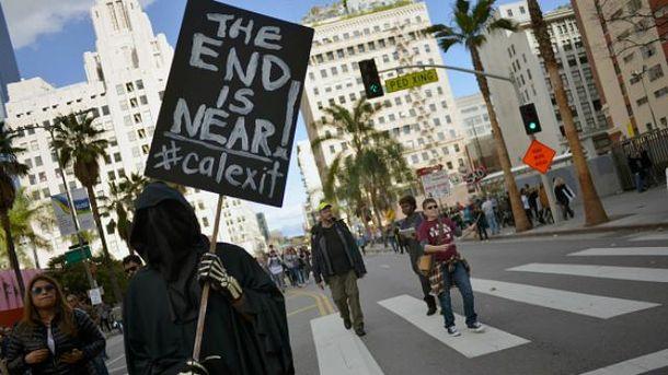 ВКалифорнии стартовала кампания заотделение штата отСША