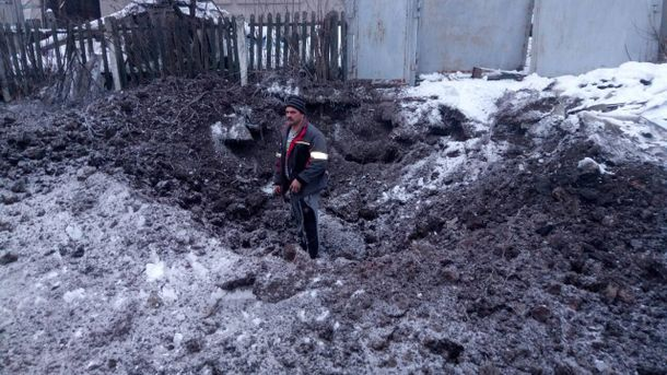 Милиция: Из-за обстрела боевиками Авдеевки ранения получили двое гражданских