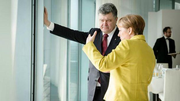 Порошенко срочно вернулся изГермании на государство Украину  из-за ситуации вАвдеевке