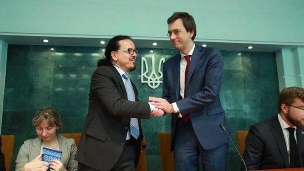 Омелян предупредил, что может уйти изпоста министра из-за конфликта сБалчуном