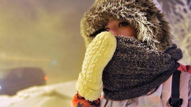 Совторника в Украинское государство возвращаются сильные морозы