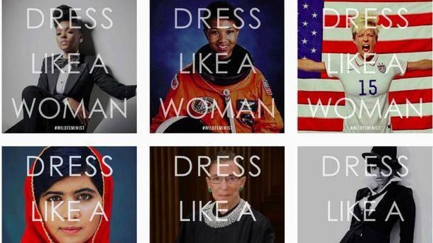 В социальных сетях запустили флешмоб #DressLikeAWoman вответ на«дресс-код» отТрампа