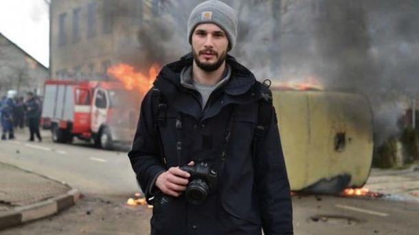 Раненому вАвдеевке фотографу спасли зрение