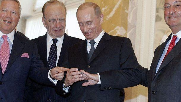 Победитель «Супербоула» хочет забрать у В. Путина собственный перстень при помощи Трампа