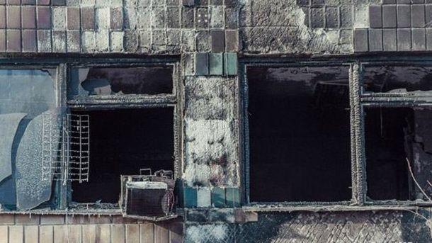 Винтернете показали жуткое видео взорванного кабинета «Гиви»