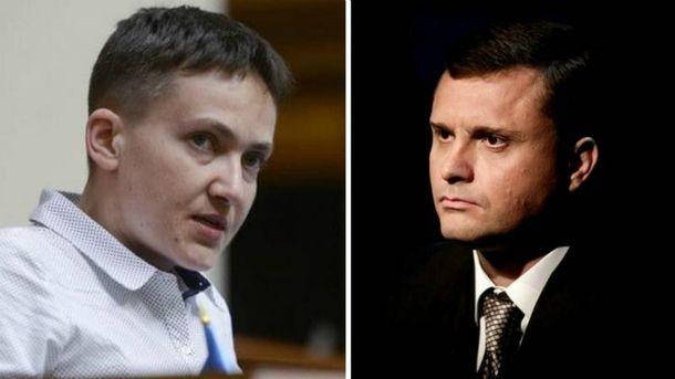 Савченко впрямом эфире назвала Порошенко противником украинского народа