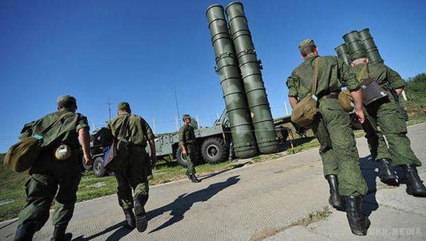 Российская Федерация приподнимает ПВО вКрыму из-за Украины