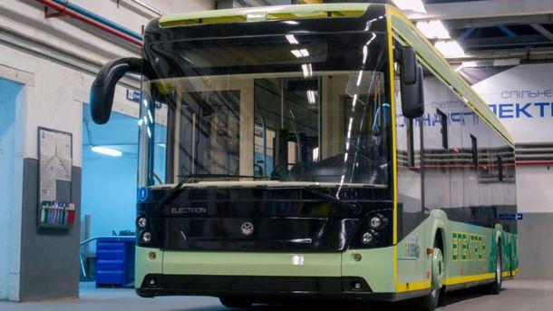 Электробус за12 млн. запустят вОдессе осенью