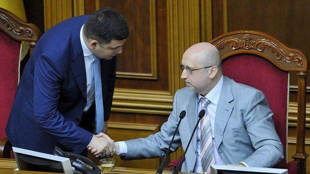 Гройсман поручил СНБО решить проблему блокады Донбасса