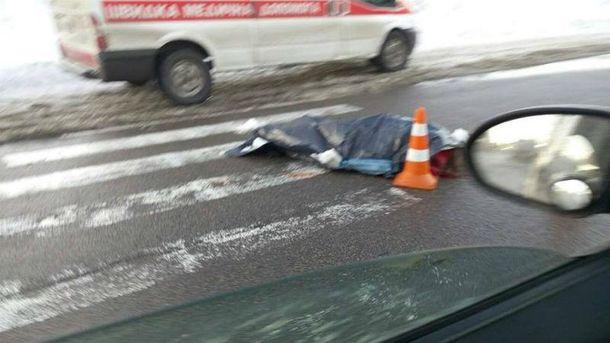 ВКиеве Peugeot (Пежо) сделал сальто откоторого погибла девушка