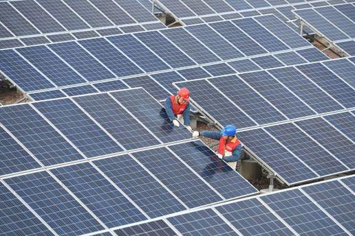 Фотоэлектрическая система в Чучжоу Китай