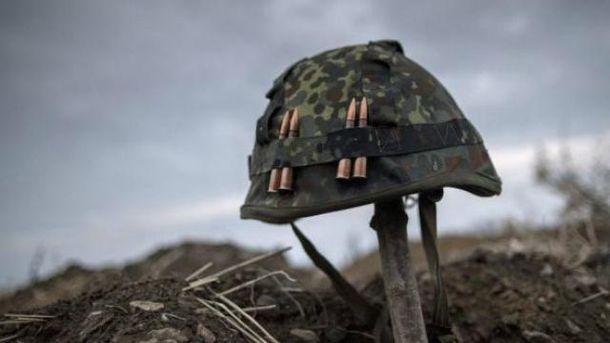Один украинский военный погиб