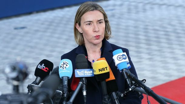 Могерини увязала санкции противРФ свыполнением Минских договоров