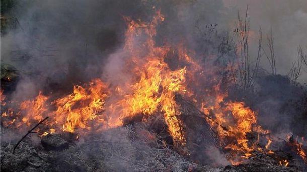 Пожар ввоинской части наСумщине: есть жертвы