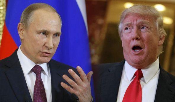 Дональд Трамп встромив Путіну ніж у спину, або Нуууу, там видно буде