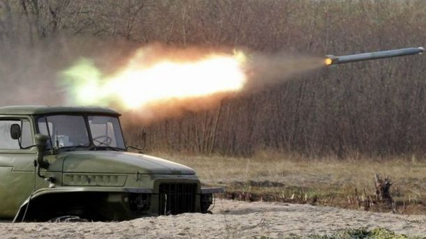 Оккупанты втечение 30 минут обстреливали Водяное изГрадов